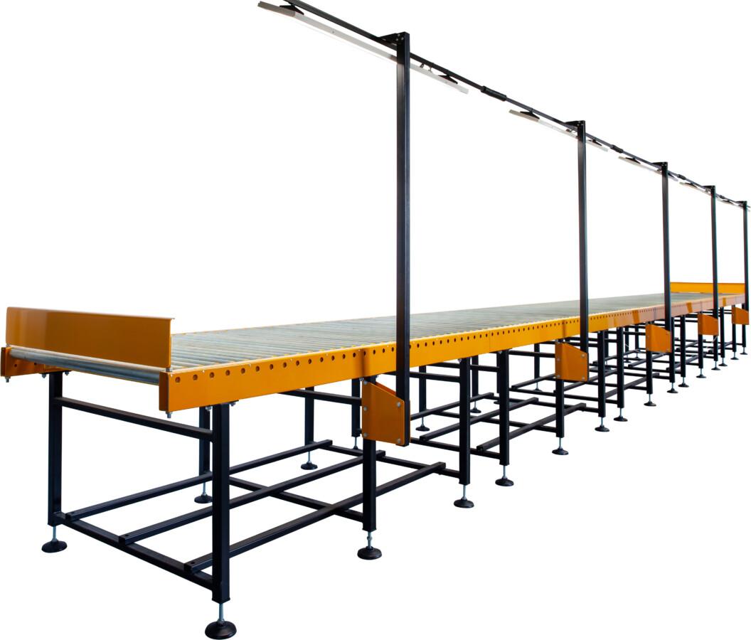 Стол роликовый для осмотра и реконструкции керна