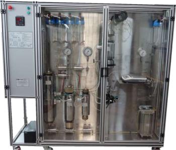 Автоматизированная система моделирования пласта для исследования фильтрационно-емкостных свойств керна при однофазной фильтрации