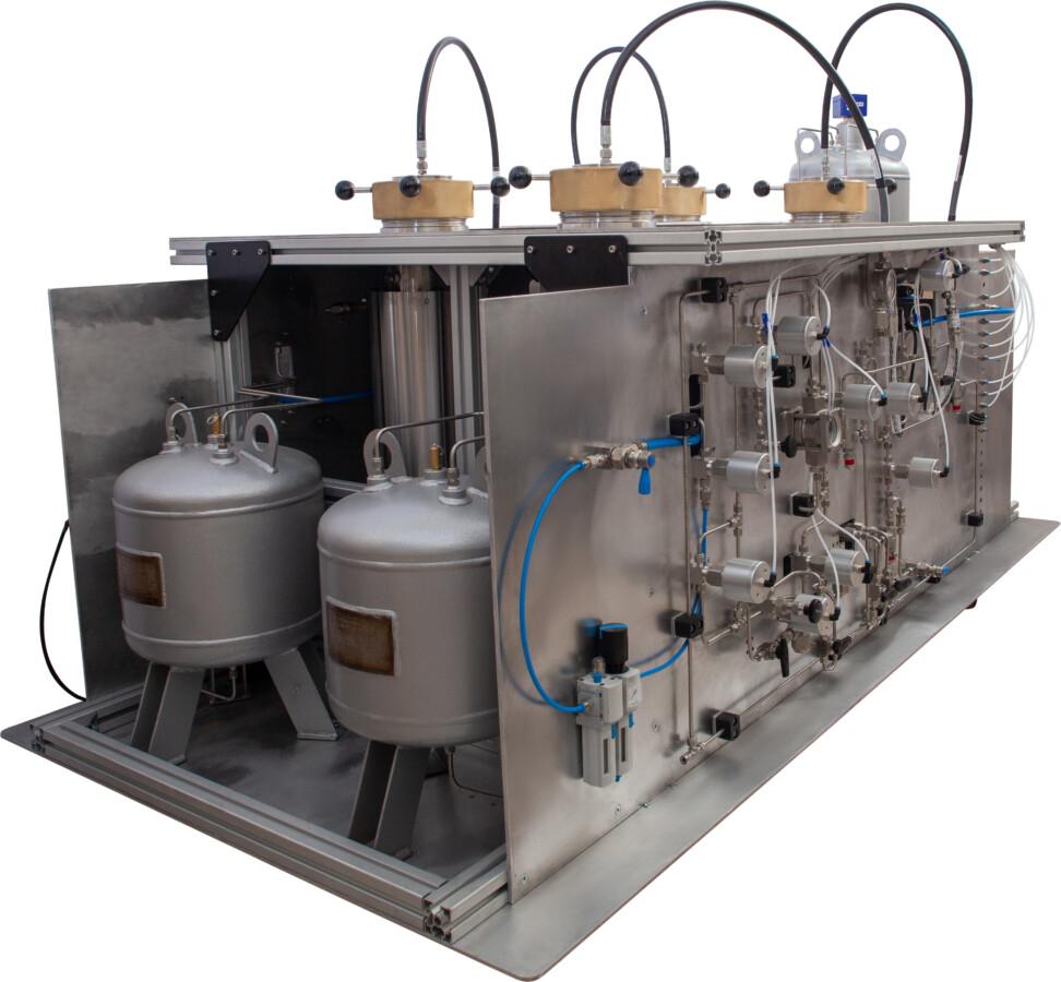 Толуол-СО₂  экстрактор для стандартных образцов и полноразмерного керна